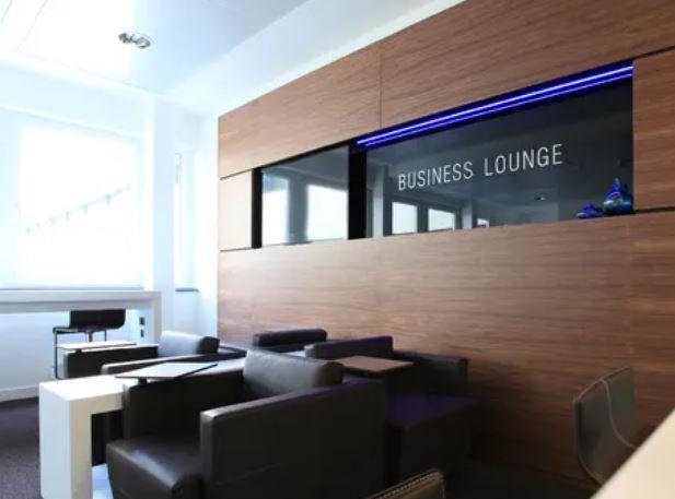 Waidmarkt business lounge sign