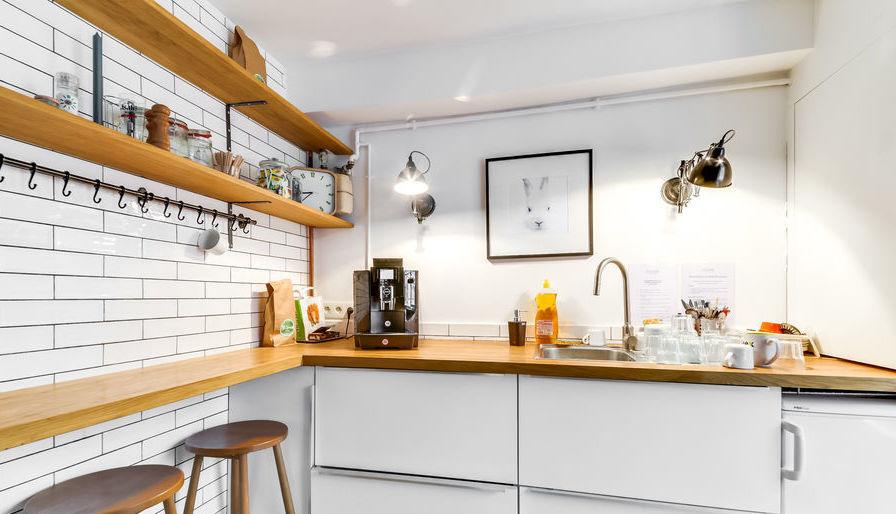 Location de bureau avec cuisine moderne à Paris