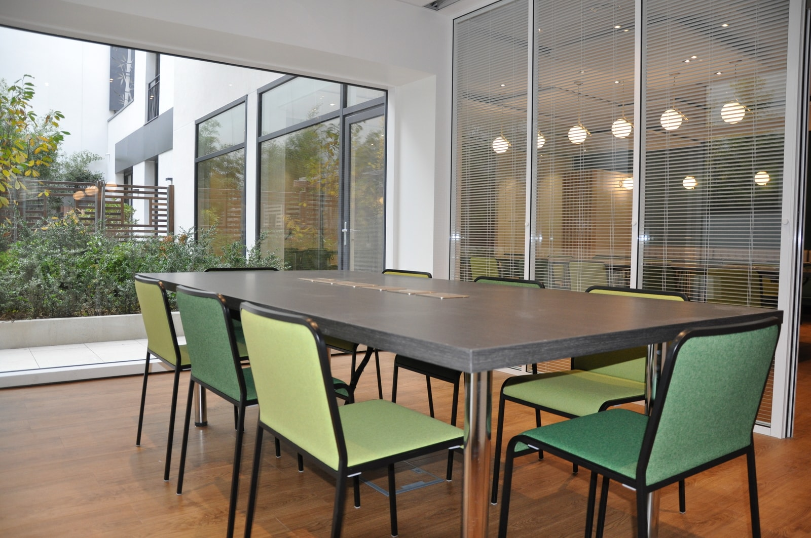 Office space for meetings and presentations