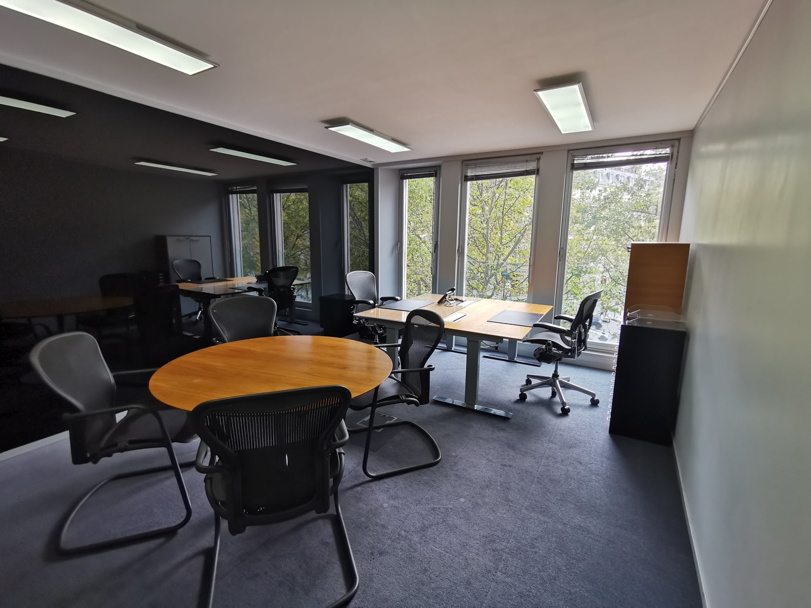 Office space of various sizes available