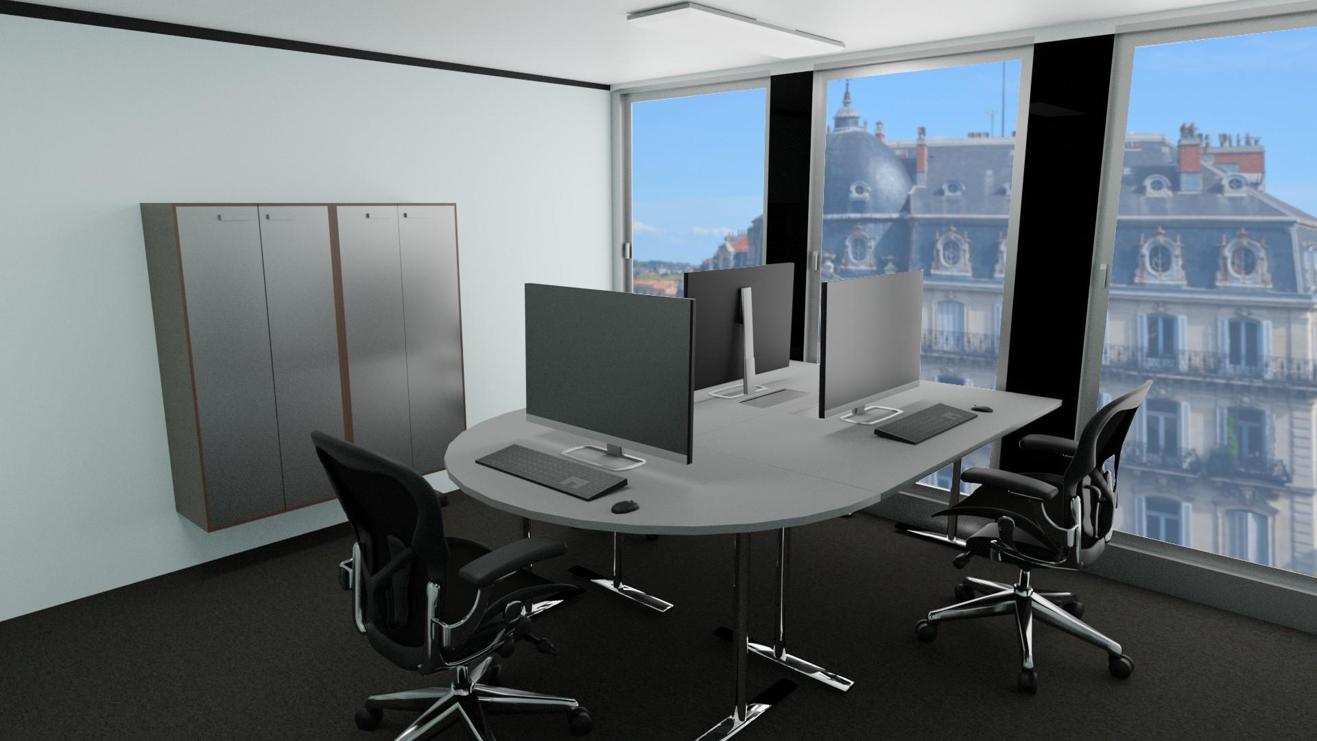 Modern office spaces for rent at 66 Avenue des Champs-Elysées