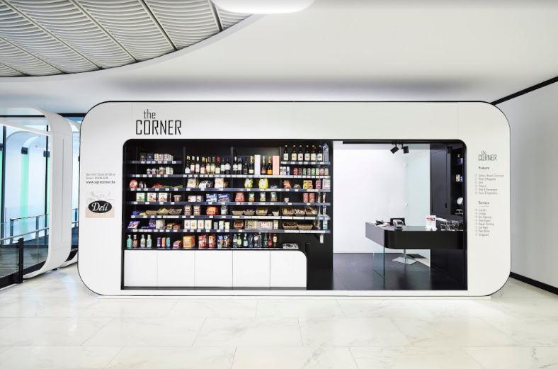 Corner kantine in uniek design