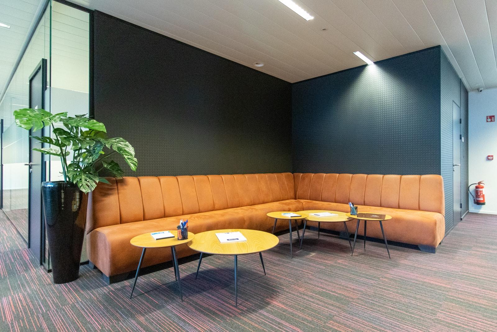 Mooie ontvangst in kantoorgebouw Gent