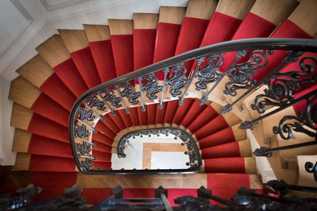 Stairways to the next floor