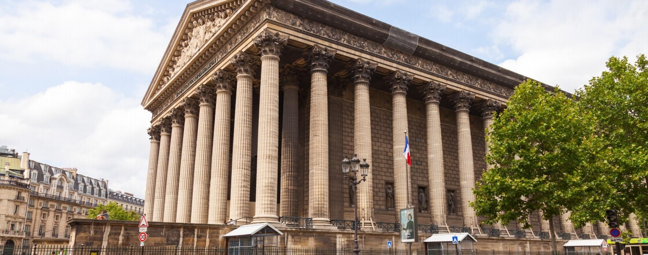 Classic Parisian building