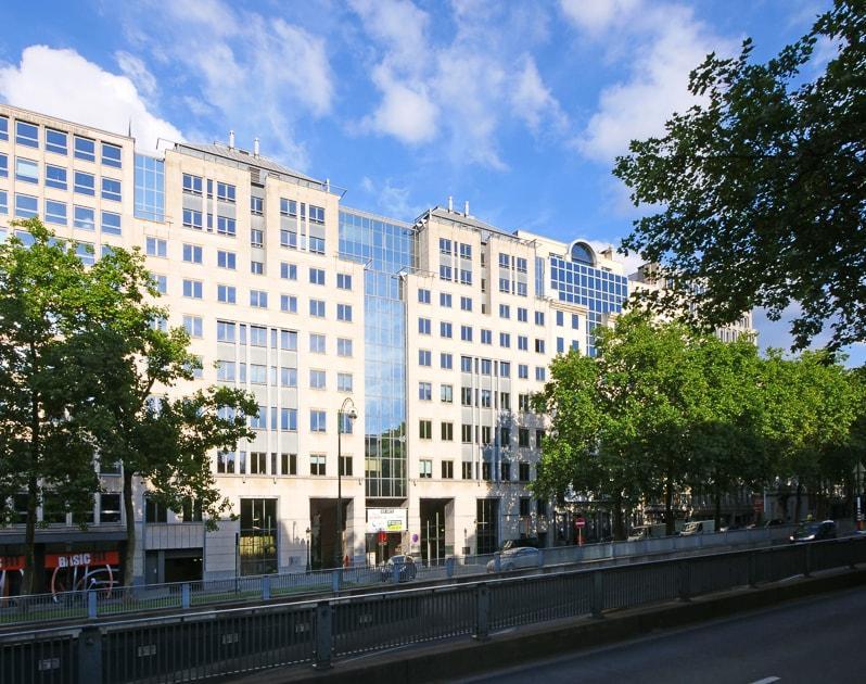 Kantoorruimte op de Kunstlaan 6 in Brussel