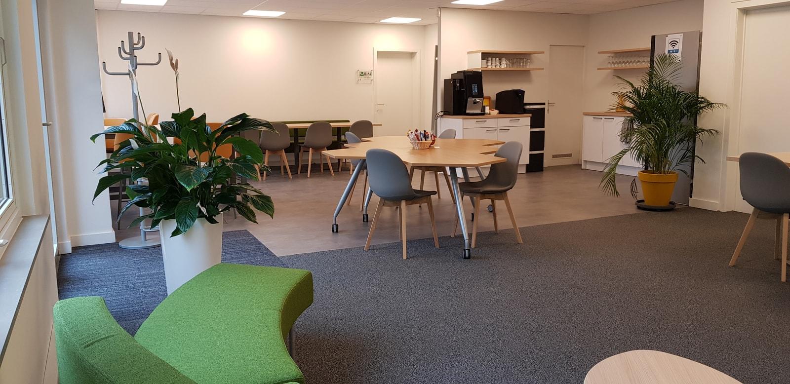Gemeenschappelijke lunchruimte