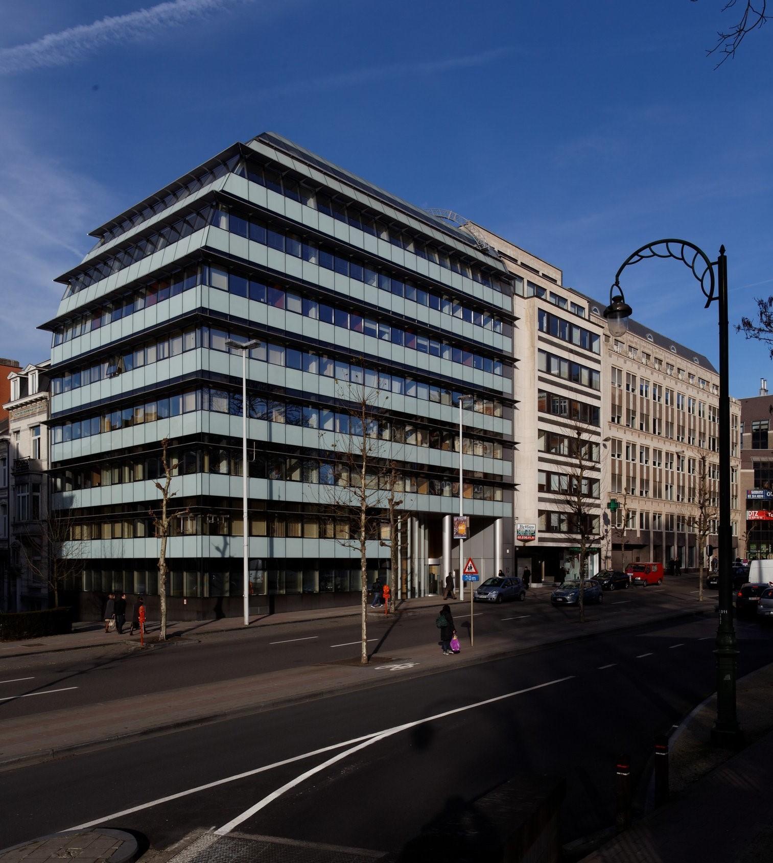 Kantoorpand te huur in Brussel