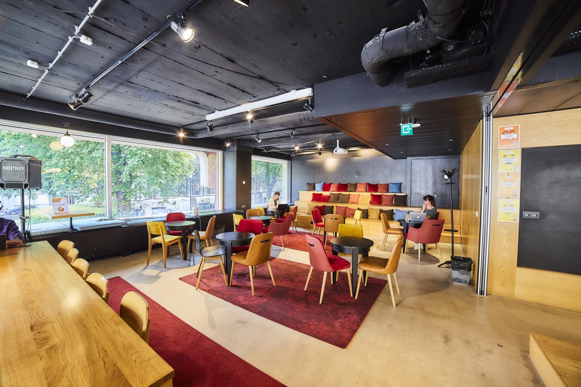 Flexkantoren, vaste en privé kantoren