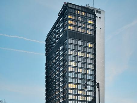 highest office buildings in Brussels