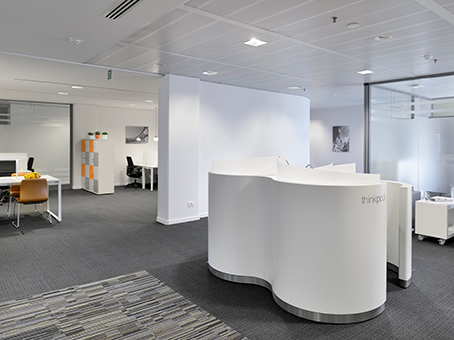 Office spaces for rent in this business center