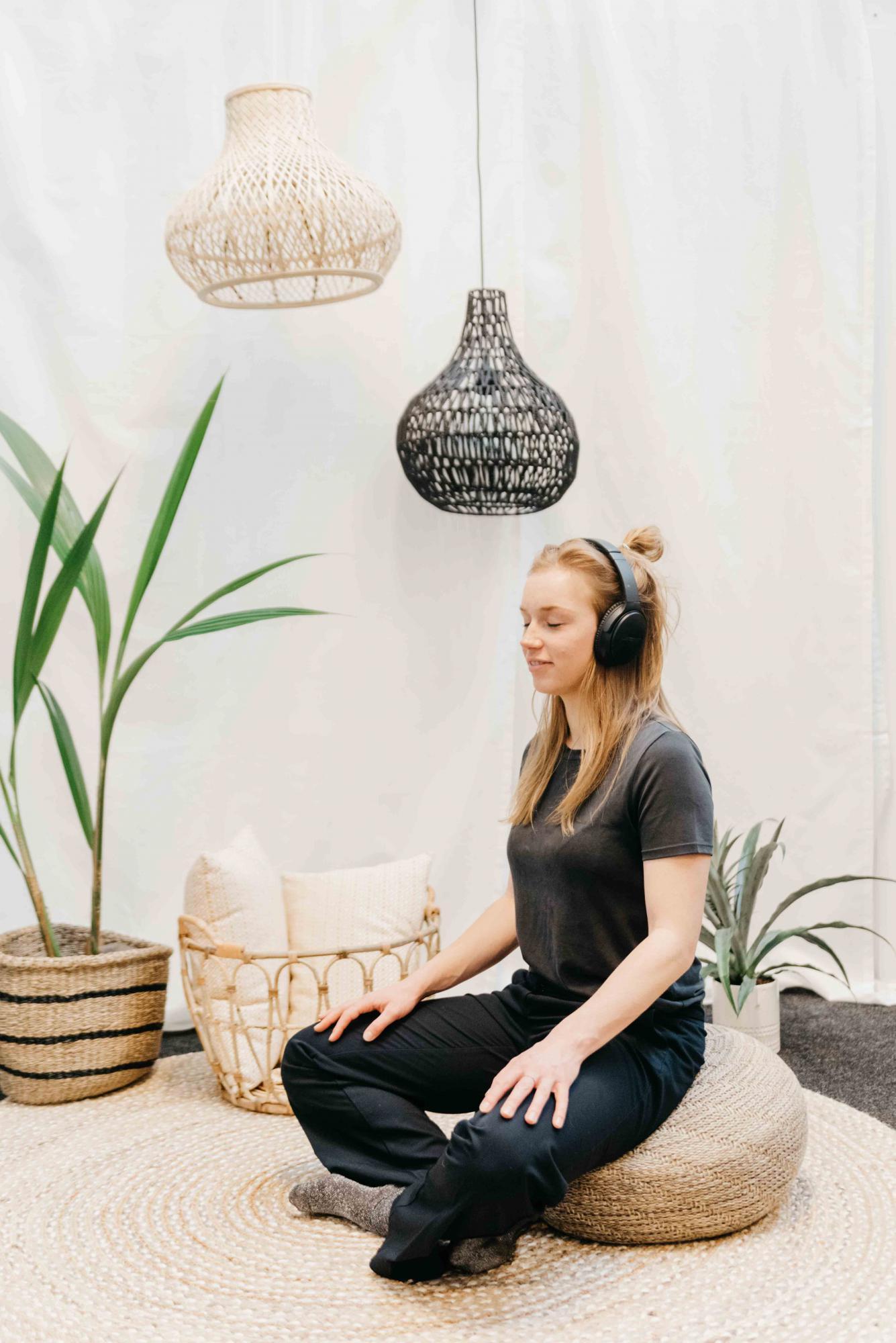 Yoga en meditatieruimte voor je breaks