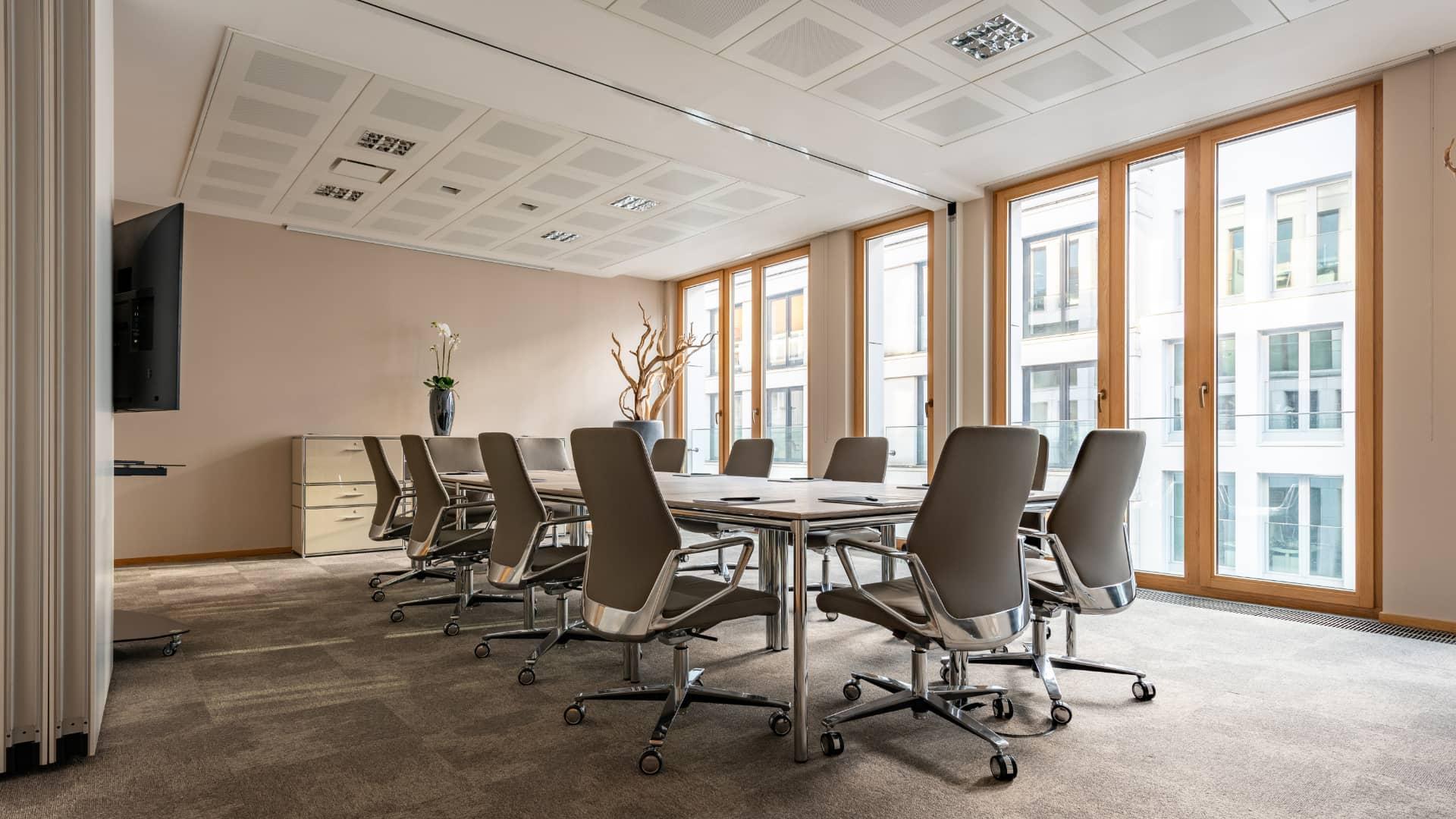 Neuer Wall meeting room