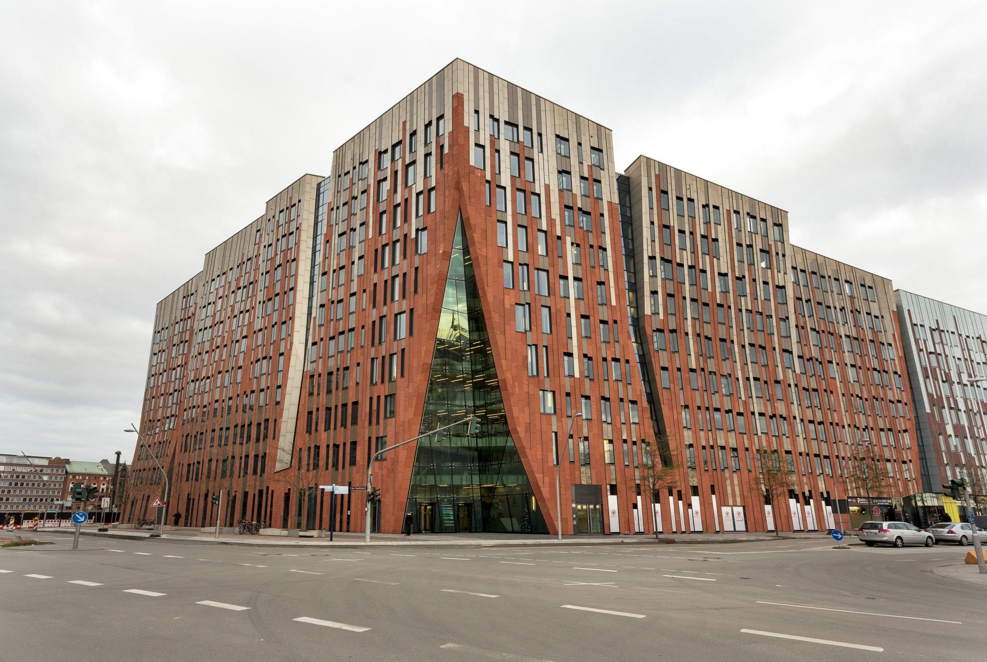 Überseeallee Gebäude
